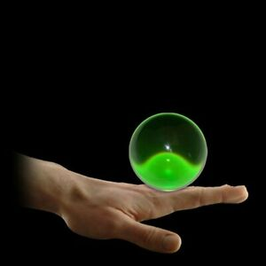 75mm Forest Green Translucent Acrylic Contact Ball