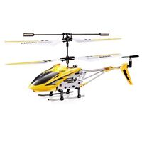 Cheerwing S107 Mini RC Helicopter Phantom 3CH 3.5 Channel Metal with Gyro Yellow