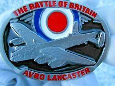 Lancaster bomber belt buckle RAF WW2