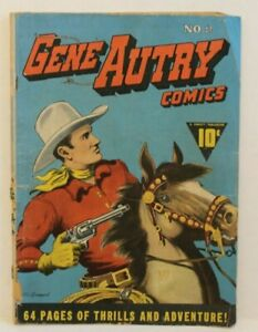 GENE AUTRY #2 from Fawcett Publications and 1942 at 3.0 or better. One old-timer