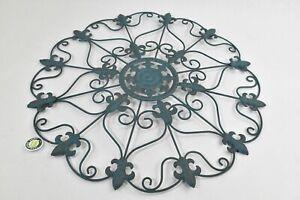 "Decorative , METAL Wall Medallion 24"""