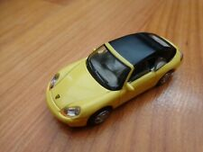 1/72 CARARAMA CLASSIC - YELLOW PORSCHE 911 CABRIOLET DIECAST MODEL CAR