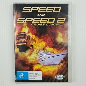 Speed 1 & 2 Cruise Control 2 Disc Set - Region 4 PAL - TRACKED POST