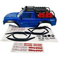 Traxxas TRX-4 Senda Rock Crawler Azul Chasis con Luz LED Kit Nuevo