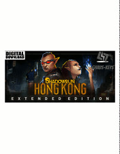 Shadowrun hong kong-Extended Edition Steam key PC Game nuevo global