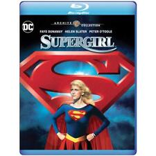 Supergirl 1984 (Blu-ray + DVD) Faye Dunaway, Helen Slater, Peter O'Toole - New!