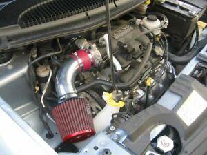 01-07 Dodge Caravan Mini C/V SE SXT 3.3 V6 Air Intake Kit + RED Filter