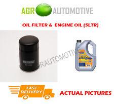 Essence filtre à huile + ll 5W30 huile moteur pour lexus rx 300 3.0 204BHP 2003-08
