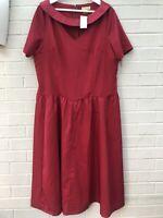 NEW Lindy Bop Size 20 Dress Fit & Flare Rockabilly 50s Vintage Style