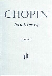 CHOPIN NOCTURNES Hardback Piano