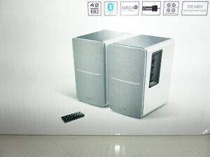 Edifier Aktivboxen Studio R1280DB Lautsprecher weiß Bluetooth Boxen NEU