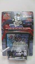 Rare Nascar LE Press Pass Jeff Green Autographed Chevy 1:64 Diecast   NEW dc1403