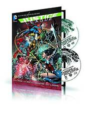 Justice League: Throne Of Atlantis Hardcover Graphic Novel And DVD & Blu-Ray Set