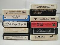 Early Country Music 11 8 Track Lot Patsy Cline, Alabama Tom T. Hall