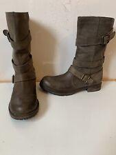 Debenhams Comfy Leather Boots Size UK 6 EU 39