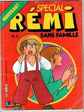 SPECIAL REMI SANS FAMILLE n°5 ¤ 1977 EDIT BOYS TF1