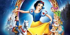 Snow White & Dwarfs  Mosaic Diamond Painting Kit 30 x 40 cm like cross stitch