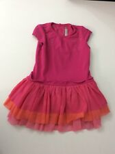 Catimini Girls Pink Dress Size 98 Age 3 years
