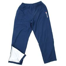 VINTAGE Reebok Warm Up Pants Adult Size Large L Blue Track Pant Lined Baggy Fit