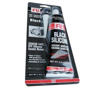 1x Schwarz Silikon Dichtstoff Hochtemperatur Wasser Ölbeständig 343ºС 85g