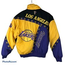 Vintage Lakers Jacket Pro Player NBA Embroidered