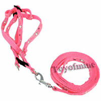 Pet FitsSmall to Medium Dog Lead Leash harness Pulling Harness Leash Rope