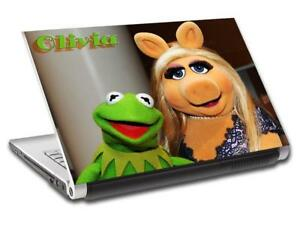 Kermit & Miss Piggy Muppets Personalized LAPTOP Skin Decal Vinyl Sticker L714