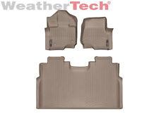 WeatherTech FloorLiner for Ford F-150 SuperCrew Bucket - 2015-2017 - Tan