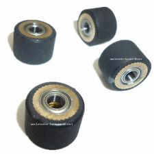 4pcs Pinch Roller For Roland Vinyl Plotter Cutter 4x10x14mm Paper Pressing Wheel