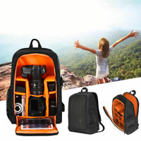 Large DSLR Outdoor Waterproof Camera Backpack Shoulder Bag Case For Canon Nikon