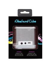 Lot of 2: iGlowSound Cube, Bluetooth, Speakerphone, iSound-5387 play your mp3s