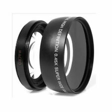 0.45X 58mm Auto Focus Wide Angle&Macro Conversion Lens For Canon 550D 400D 450D