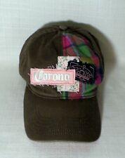Womens Corona Distressed Mas Fina Beer Adult Baseball Golf Cap Hat Adjustable