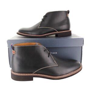 Tommy Hilfiger Mens Gervis 2 Black Chukka Boots (TMGERVIS2) U.S Size 7 - 13