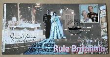 Déclassement yacht royal britannia couverture signée v. amiral roderick macdonald