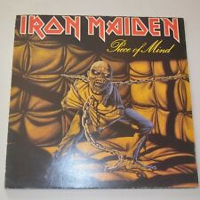 IRON MAIDEN - PIECE OF MIND - 1983 FIRST PRESS YUGOSLAVIA LP
