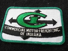 Commercial Motor Freight Inc of Indiana Vintage Trucking  Patch