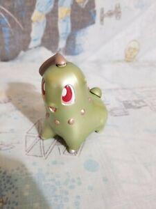 Very Rare & HTF Pokemon Shiny Chikorita Shiny figure 2000 Hasbro Nintendo