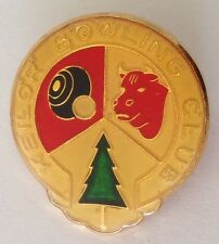 Keilor Bowling Club Badge Pin Vintage Lawn Bowls (L14)