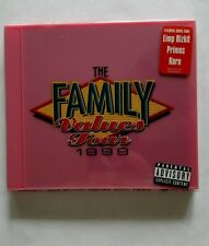 The Family Values Tour 1999 (1999 cd) new Limp Bizkit Primus Korn