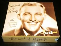 The Best of Bing Crosby - 3 CD's Box Set - 60 Great Tracks - 1996 Hallmark