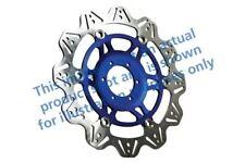 convient YAMAHA TZR 250 (1KT/2AW Japon - moteur 87 EBC VR DISQUE DE FREIN Bleu