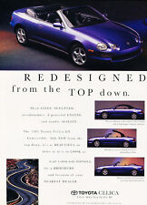 1994 Toyota Celica - Redesigned - Classic Vintage Advertisement Ad D103