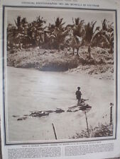 Photo Article Boy crossing the Mekong river on a water buffalo 1964
