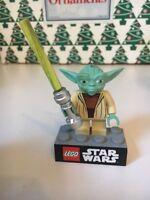 Navidad Hallmark RECUERDO Lego Yoda Star Wars ORNAMENTO EN CAJA