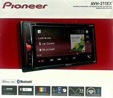 "New Pioneer 2 Din Avh-211Ex Dvd/Mp3/Cd Player 6.2"" Touchscreen Bluetooth"