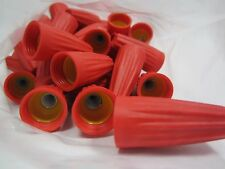 Free Ship, (50) Gorilla Nuts Red and Yellow Cushion Grip Wire Connectors
