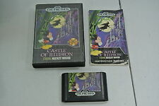 Castle of Illusion Starring Mickey Mouse For Sega Genesis System COMPLETE!!
