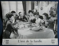 belg./french lobby card  L´ami de la famille  D.Cowl , R.Bussieres , A.Poivre