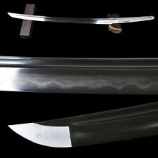 Clay Tempered1095 Carbon Folded Steel Blade For Japanese Samurai Wakizashi Sword